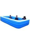超大號兒童充氣游泳池加厚成人水池家庭嬰幼兒游泳桶家用小孩泳池  ATF  極有家