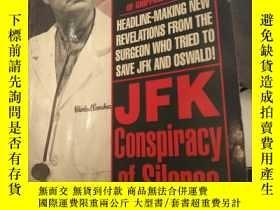 二手書博民逛書店jfk罕見conspiracy of silenceY6388