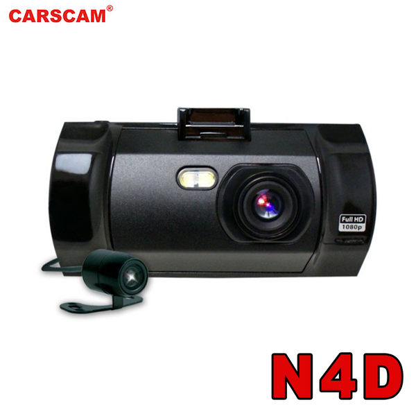 【CARSCAM】行走天下 N4D高畫質雙鏡頭行車記錄器 現貨供應中