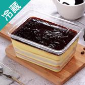 晶凍芋香布丁蛋糕/條【愛買冷藏】