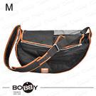 法國《BOBBY》探索側背寵物袋 M號 寵物外出袋 馬爾濟斯/雪納瑞/臘腸/傑克羅素 寵物背包