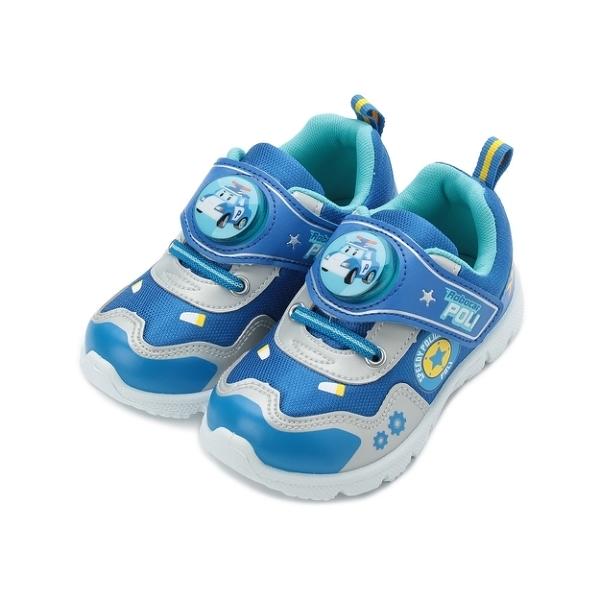 救援小英雄 POLI波力電燈運動鞋 藍 POKX91286 中大童鞋 鞋全家福