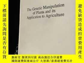 二手書博民逛書店The罕見Genetic Manipulation of Pla
