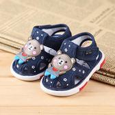 學步鞋 寶寶嬰兒鞋夏0-1-2歲軟底6-12個月寶寶學步鞋兒童叫叫鞋 WE398『優童屋』