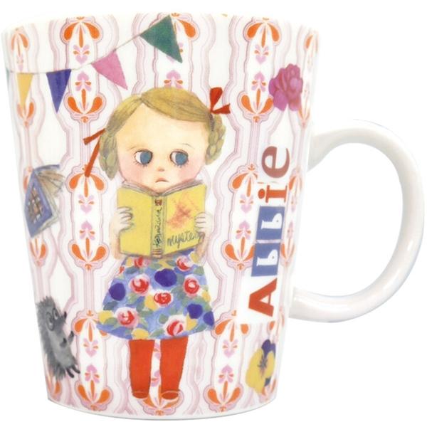 【日本製】【ECOUTE!】小女孩圖案馬克杯 Abbie SD-3725 - ecoute!