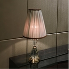 110V-220V 大氣奢華水晶檯燈高檔客廳書房臥室床頭燈--不送光源