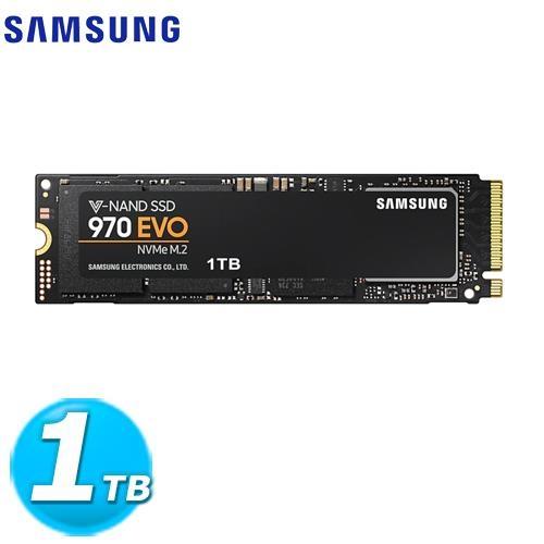 SAMSUNG 三星 970 EVO SSD-1TB(M.2/MZ-V7E1T0BW)