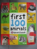【書寶二手書T3/少年童書_HBW】First 100 Soft To Touch Animals_Roger Priddy