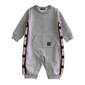『小鱷魚童裝』印花條連身裝(0號~01號)556532