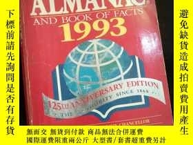 二手書博民逛書店The罕見World Almanac and Book of Facts 1993 (英文)Y16149 Wo