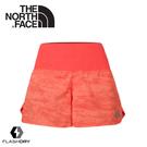 【The North Face 女 FlashDry運動短褲《紅》】3F1K/快乾短褲/慢跑褲/休閒短褲
