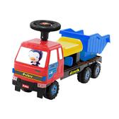 【奇買親子購物網】藍色企鵝 PUKU Petit 運土機工程車/推土機工程