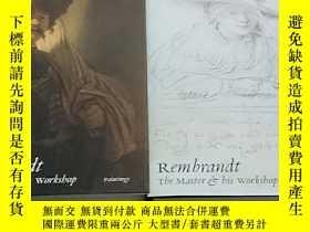二手書博民逛書店倫勃朗,英文原版,兩卷本,Rembrandt罕見the Mast
