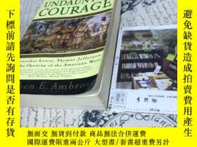 二手書博民逛書店英文原版罕見undaunted courage : Meriwe