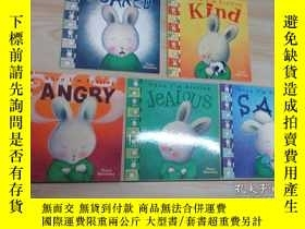 二手書博民逛書店英文繪本罕見When I m Feeling 《SAD》《JeALOUS》《ANGRY》《Kind》《SCARED