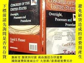 二手書博民逛書店CONGRESS罕見OF THE UNITED STATES Oversight,Processes and Pr