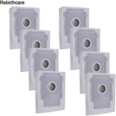 【美國代購】Rebirthcare 8包吸塵器 污垢處理袋用於iRobot Roomba i7 Plus 更換