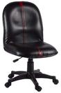 HP341-06 辦公椅(黑皮/氣壓升降...
