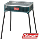 Coleman CM-21952-綠 酷立架烤肉箱可調式烤肉箱