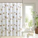 浴間浴簾套裝免打孔加厚防霉防水簾衛生間浴室掛簾洗澡隔斷簾子布
