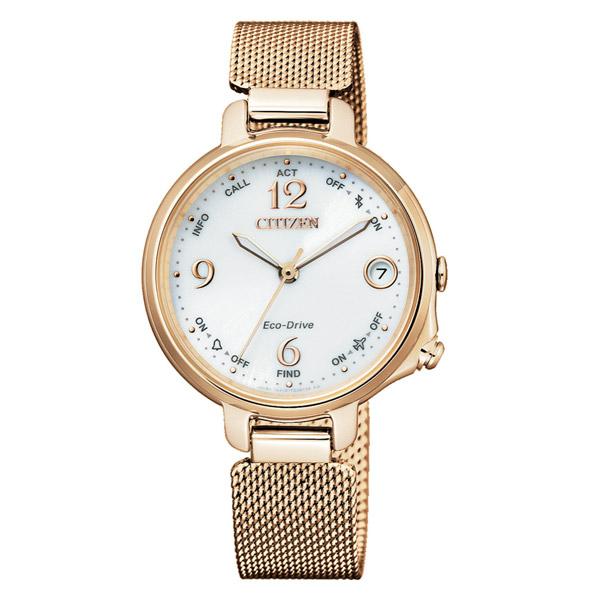 CITIZEN 星辰 光動能防水 限量(EE4032-80A)藍牙女錶