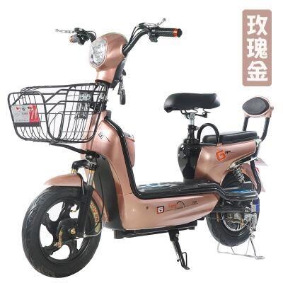 新款winner電動車48v新款電動自行車雙人電瓶車成人小型代步 MKS免運