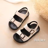 (萬聖節)涼鞋胖腳寶寶涼鞋男1-2-3歲夏季軟底防滑皮質男童涼鞋新品正韓潮