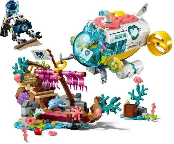 【LEGO樂高】FRIENDS 海豚救援任務 #41378