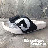 AIR WALK 白底 黑鞋面 橡膠  男女 情侶鞋  (布魯克林) 2018/7月 A755220-208