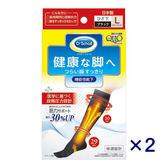 【QTTO爽健】日本Dr.Scholl 分散壓力 功能襪 L(2雙入)