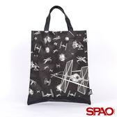 SPAO星際大戰滿版印花兩用托特包