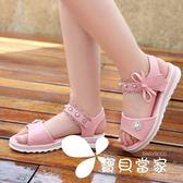 女童涼鞋夏季公主鞋韓版2018新款小女孩軟底中大童真皮兒童學生鞋