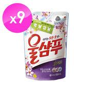 【韓國AK】精緻衣物洗衣精(持久花香型) 1.3LX9入