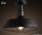 INPHIC- 鐵藝工業風吸頂燈北歐復古單頭吸頂燈創意咖啡館燈_S197C