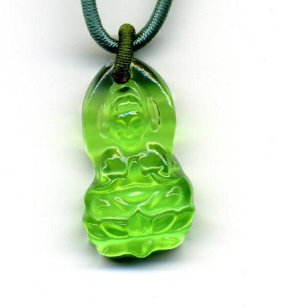 鹿港窯~居家開運水晶琉璃項鍊~靜願-小◆ 附精美包裝◆免運費送到家