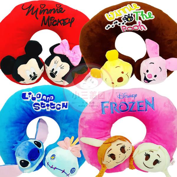 迪士尼大頭造型舒壓頸枕(1入)4款可選【小三美日】護頸枕/午睡枕/旅行枕/靠肩