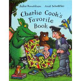 【麥克書店】CHARLIE COOK'S FAVOURITE BOOK /英文繪本附CD《幽默.傳統故事》