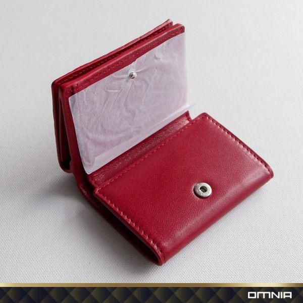 韓國 OMNIA 維芬編織紋真皮女用短夾 皮夾皮包錢包 NO.3286C【韓國直送】