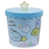【角落生物 收納筒】角落生物 可愛 收納筒 小垃圾桶 藍 日本正版 該該貝比日本精品 ☆