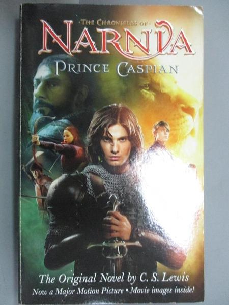 【書寶二手書T1/原文小說_JMD】Prince Caspian-The Return to Narnia_C. S. Lewis