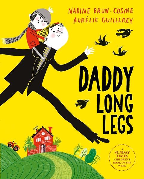 【麥克書店】DADDY LONG LEGS /英文繪本翻翻書《主題:父親節.幽默》