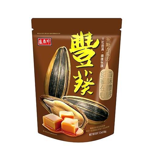 盛香珍豐葵香瓜子-焦糖風味150g【愛買】