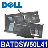 戴爾 DELL BATDSW50L41 4芯 原廠電池 電壓 7.7V 容量 7650mAh/60WH