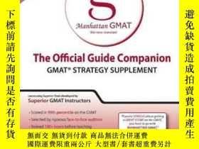 二手書博民逛書店Official罕見Guide Companion (manhattan Gmat Prep)Y307751