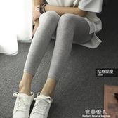 春夏季新韓版莫代爾緊身九分薄款外穿百搭打底褲純棉內小腳女 完美情人生活館