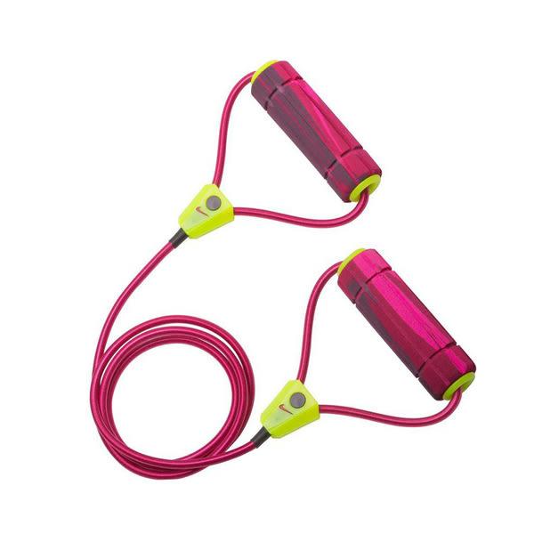 Nike Resistance Band [NER17695NS] 運動 健身 重量 訓練 拉力 彈力繩 中量級 桃紅