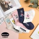 【正韓直送】海綿寶寶中筒襪 韓國襪子 長...