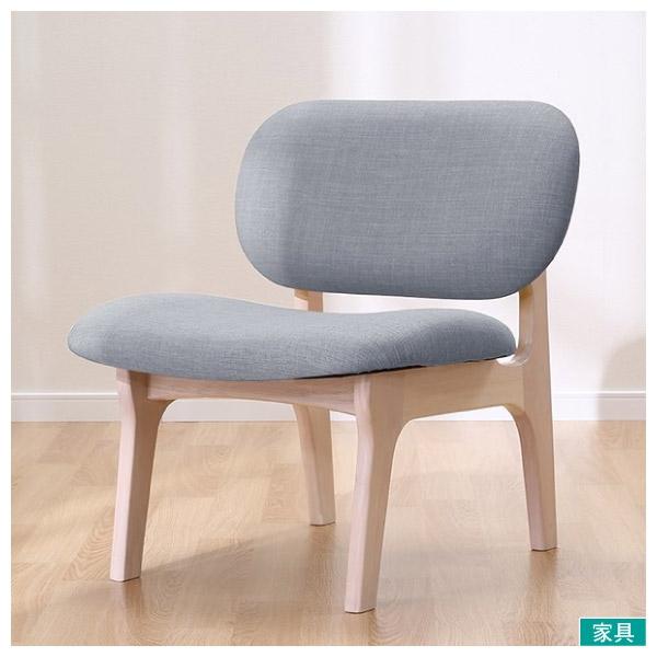 ◎實木餐椅 RELAX WW/GY 橡膠木 NITORI宜得利家居