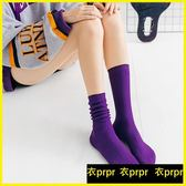 堆堆襪 中筒韓版學院風堆堆襪百搭薄款個性長襪