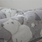【代購】韓國POGNAMI立體超細纖維聖誕北極熊單人冬被